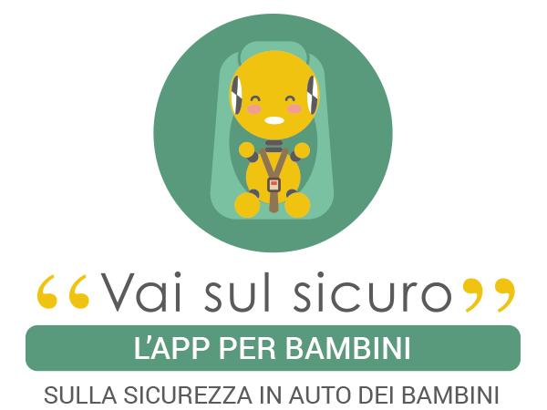 Vai sul sicuro app per bambini sulla sicurezza in auto